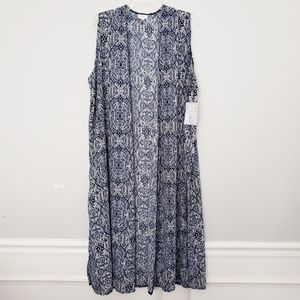 NWT LuLaRoe Joy Sleeveless Duster Size XL